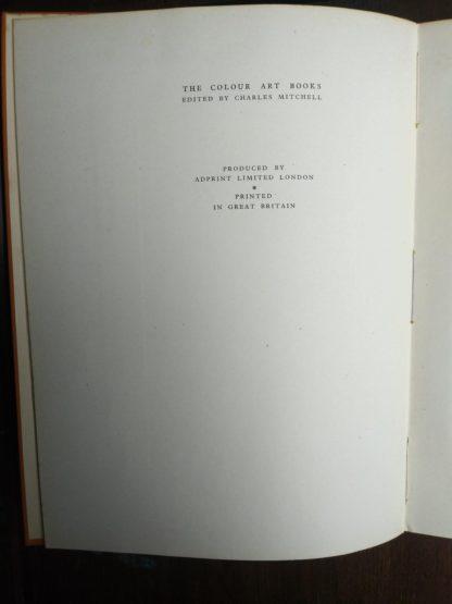 1942 Vintage London by John Betjeman printed in Great Britain
