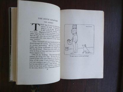Doctor Dolittles Garden by Hugh Lofting 1927 Eighth Impression illustration of the acrobat