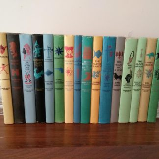 Lot of 16 titles from childrens Junior Deluxe Editions Collection, Circa 40s -50s