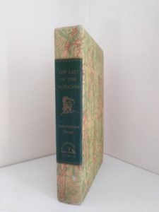 The Last of the Mohicans Rainbow Classics circa 1950s by James Fenimore Cooper binding view