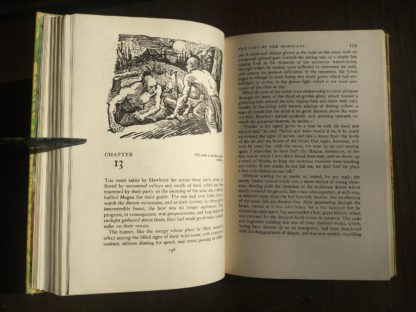 The Last of the Mohicans Rainbow Classics circa 1950s by James Fenimore Cooper chapter 13
