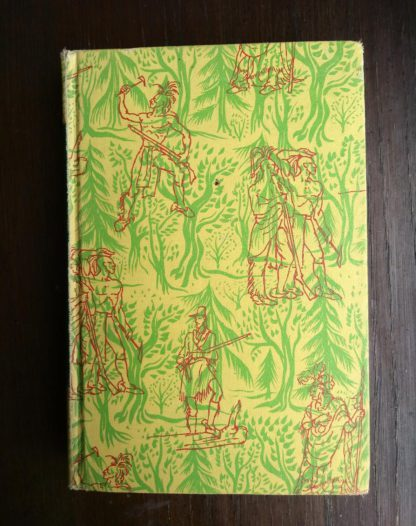 The Last of the Mohicans Rainbow Classics circa 1950s by James Fenimore Cooper front cover