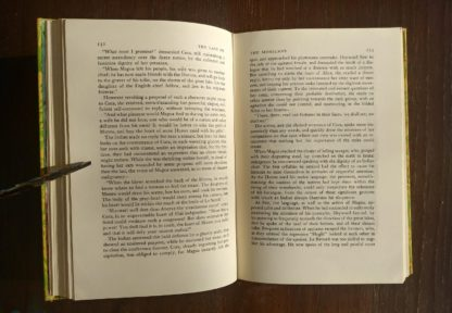 The Last of the Mohicans Rainbow Classics circa 1950s by James Fenimore Cooper page 132 and 133