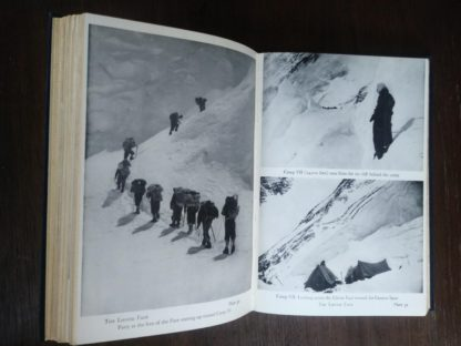 1954 First edition copy of The Conquest of Everest by Sir John Hunt black and white photographs of the expedition