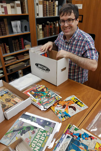 David-Shay-cataloguer-in-the-Irvin-Department-of-Rare-Books-and-Special-Collections-at-USC