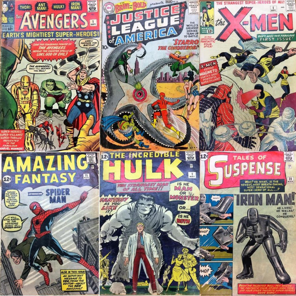 First issues that were among a collection of 180 000 comic books acquired by the University of South Carolina worth $2.5 million