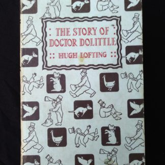 1962 copy of The Story of Doctor Dolittle by Hugh Lofting