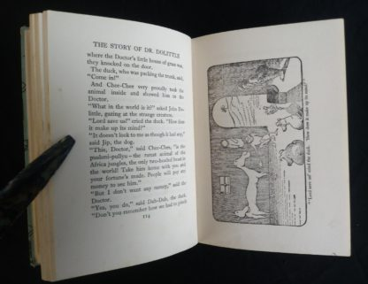 1962 copy of The Story of Doctor Dolittle by Hugh Lofting - illustration on page 115