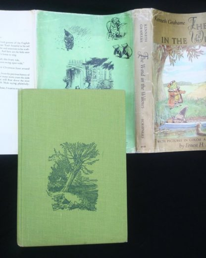 The Wind in the Willows 1961 Golden Anniversary Edition front cover and dust jacket
