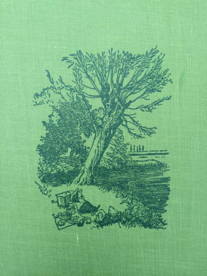 The Wind in the Willows 1961 Golden Anniversary Edition front cover design
