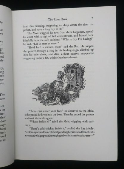 The Wind in the Willows 1961 Golden Anniversary Edition illustration of the Mole and Rat on page 7