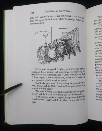 The Wind in the Willows 1961 Golden Anniversary Edition page 104
