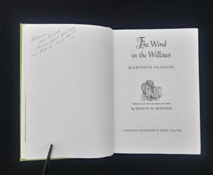 The Wind in the Willows 1961 Golden Anniversary Edition title page
