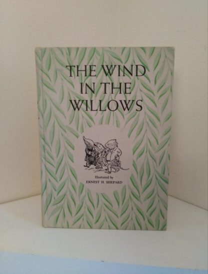 front cover of a 1954 copy of The Wind in the Willows illustrated by Ernest Shepard
