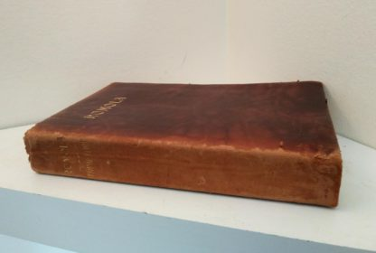 1908 Leather bound RAMOLA by George Eliot published by McClurg & Co