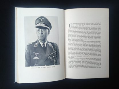 1956 first edition copy of Six decisive battles of the Second World War from the viewpoint of the vanquished - Picture of the General of the Air Force Werner Kreipe