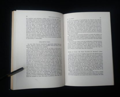 1956 first edition copy of Six decisive battles of the Second World War from the viewpoint of the vanquished - page 86 and 87