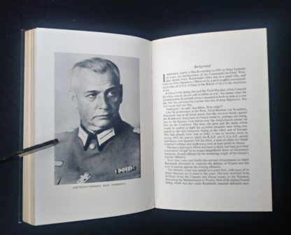 1956 first edition copy of Six decisive battles of the Second World War from the viewpoint of the vanquished - picture of Lieutenant General Bodo Zimmerman