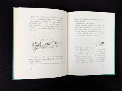 1965 copy of The Pooh Story Book stated 1st Canadian Edition page 40 and 41