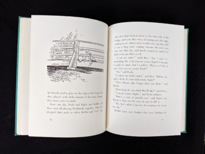 1965 copy of The Pooh Story Book stated 1st Canadian Edition page 60 and 61 with an illustration by Ernest Shepard