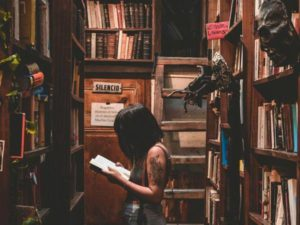 Book theft has a long history