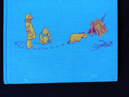 a few watermarks on the bottom front cloth cover of a 1965 copy of The Pooh Story Book stated 1st Canadian Edition