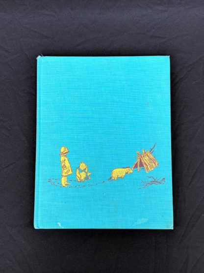 front cover of a 1965 copy of The Pooh Story Book stated 1st Canadian Edition