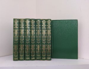 1929 - The Worlds Best 100 Detective Stories - In Ten Volumes - Full Set published by Funk & Wagnalls Company
