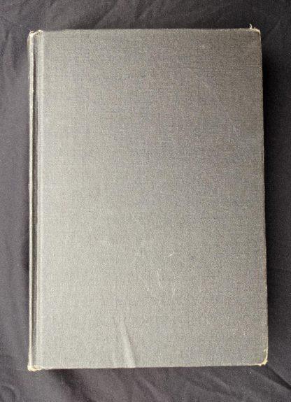 backside of The Decameron of Boccaccio by Giovanni Boccaccio. Published by The Bibliophilist Society circa 1930s