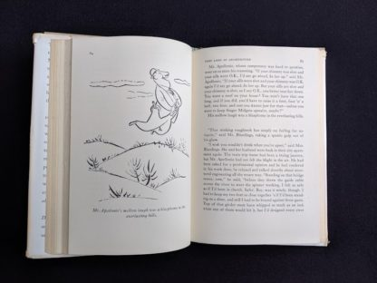 1946 first edition copy of Mr. Blandings Builds His Dream House by Eric Hodgins - illustration on page 64