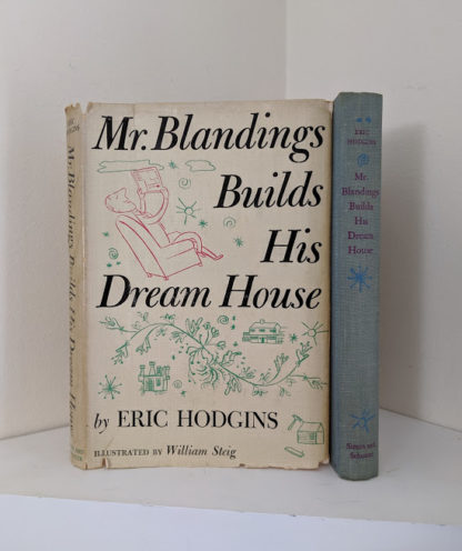 1946 first edition copy of Mr. Blandings Builds His Dream House by Eric Hodgins with original dustjacket