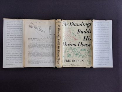 dustjacket on a 1946 first edition copy of Mr. Blandings Builds His Dream House by Eric Hodgins