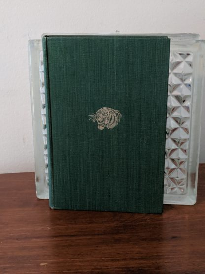 front cover view of a 1954 copy of The Temple Tiger and More Man-Eaters of Kumaon by Jim Corbett - second impression