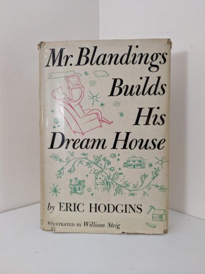 front dustjacket on a 1946 first edition copy of Mr. Blandings Builds His Dream House by Eric Hodgins
