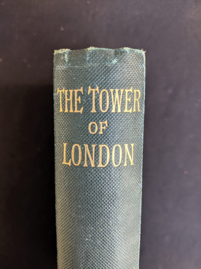 1880s copy of The Tower of London by Ainsworth