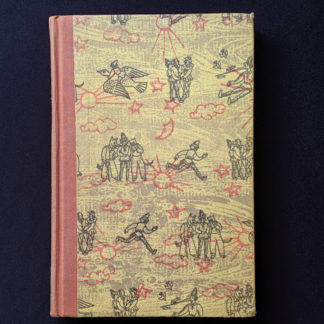 1946 Rainbow Classics edition of Pinocchio The Adventures of a Little Wooden Boy