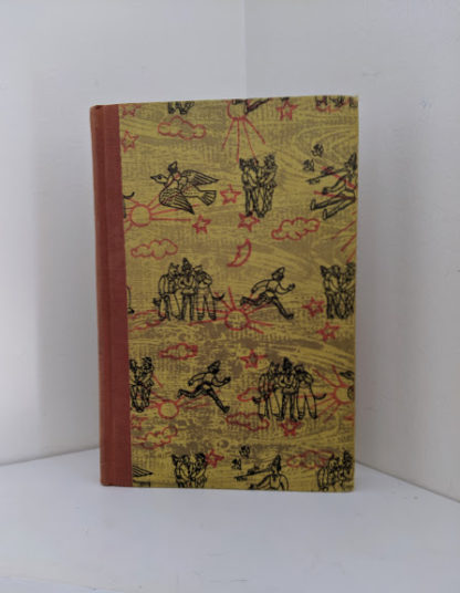 1946 second printing of a Rainbow Classics edition of Pinocchio The Adventures of a Little Wooden Boy