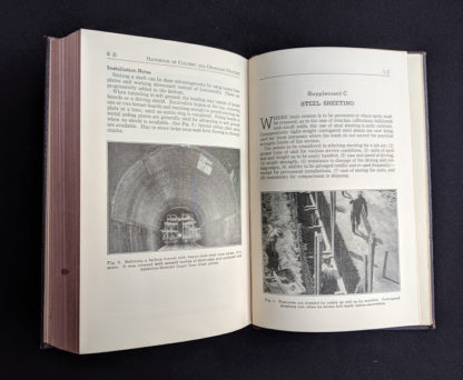 1950 copy of Handbook of Culvert & Drainage Practice - ARMCO Products - Steel Sheeting