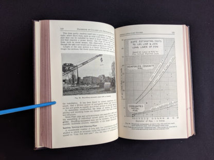1950 copy of Handbook of Culvert & Drainage Practice - ARMCO Products - pg 150 and 151