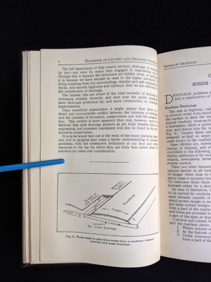 1950 copy of Handbook of Culvert & Drainage Practice - ARMCO Products - pg 2