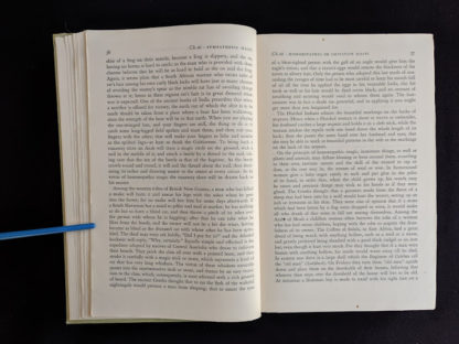 1951 copy of The Golden Bough - A Study in Magic and Religion - page 36 and 37