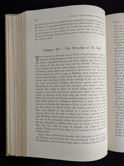 1951 copy of The Golden Bough - A Study in Magic and Religion - pg 184