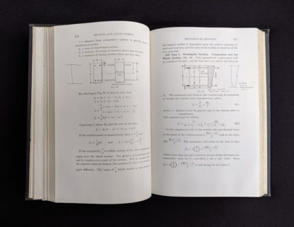 Page 176 and 177 inside copy of Design of Concrete Structures 4th Edition by Leonard Church Urquhart and Charles Edward O'Rourke