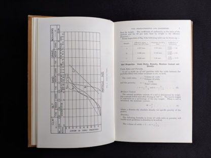 a chapter about soil properties and characterists inside a 1959 textbook Practical Problems in Soil Mechanics- third edition- by Henry R. Reynolds and P. Protopapadakis