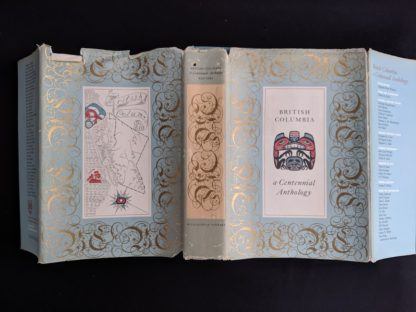 dustjacket from a 1958 first edition copy of British Columbia -A Centennial Anthology