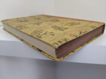 fore edge of a 1946 second printing of a Rainbow Classics edition of Pinocchio The Adventures of a Little Wooden Boy
