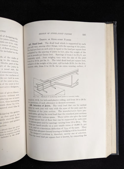 page 325 inside a copy of Design of Concrete Structures 4th Edition by Leonard Church Urquhart
