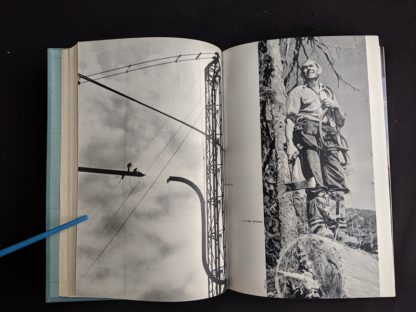 photograph in a 1958 first edition copy of British Columbia -A Centennial Anthology