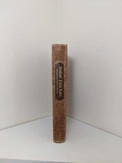 1945 Grimms Fairy Tales By the Brothers Grimm published by Grosset & Dunlap - spine view
