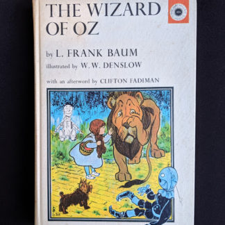 1962 copy of The Wizard of Oz published by Macmillan Company with illustrations by Denslow
